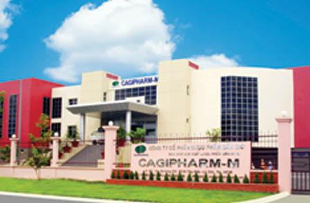 NHÀ MÁY CAGIPHARM ĐẠT CHUẨN GMP-WHO
